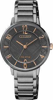Японские женские часы в коллекции Eco-Drive Женские часы Citizen EM0528-82H