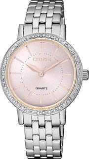 Японские женские часы в коллекции Elegant Женские часы Citizen EL3041-87X