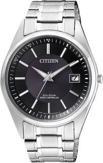 Японские мужские часы в коллекции Radio-Controlled Мужские часы Citizen AS2050-87E