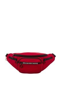 Черно-красная поясная сумка Attica Alexander Wang