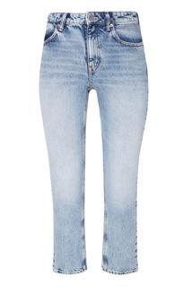 Голубые джинсы Cult с молнией сзади Alexander Wang