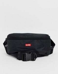 Черная сумка-кошелек на плечо с логотипом Globe - Bar - Черный