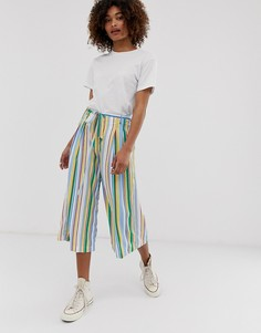 Широкие брюки в полоску Pepe Jeans Busy - Мульти