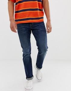 Темно-синие узкие джинсы с заниженной талией Levis 511 - Rain Shower - Темно-синий