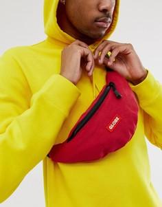 Красная сумка-кошелек на пояс с логотипом Globe - Richmond - Красный