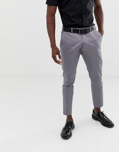 Серые узкие брюки Esprit - Серый