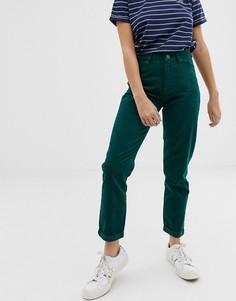 Вельветовые джинсы в винтажном стиле Lee - Зеленый