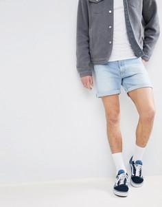 Светло-синие шорты Dr Denim - Синий
