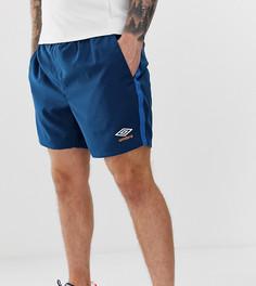 Синие шорты Umbro - Синий