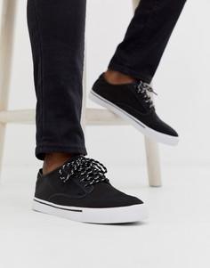 Черные кроссовки из ткани рипстоп ASOS DESIGN - Черный