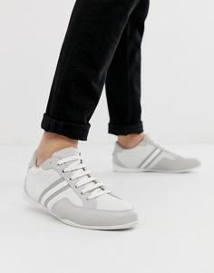 Белые кроссовки с полосками KG by Kurt Geiger - Белый