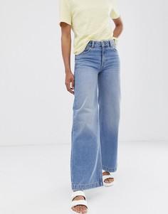 Свободные джинсы с широкими штанинами Dr Denim - Синий