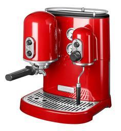 Рожковые кофемашины KitchenAid Кофеварка Artisan Espresso, красная