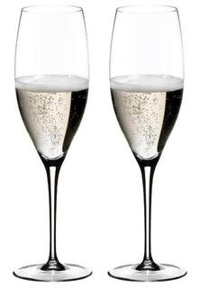 Бокалы для игристых вин Riedel Sommeliers - Набор фужеров 2 шт Vintage Champagne 330 мл хрустальное стекло 2440/28