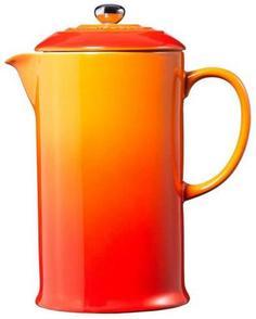 Кофейники и френч-прессы Le Creuset Кофейник с прессом Оранжевая лава