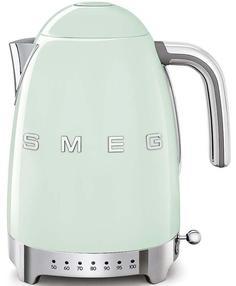 Электрочайники Smeg Чайник электрический с регулируемой температурой, зеленый