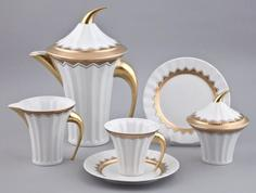 Чайный сервиз Rudolf Kampf, Сервиз чайный 15предм.