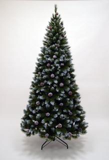 Искусственные елки Triumph Tree Ель Женева 260 см с шишками заснеженная 73173