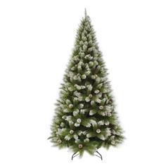 Искусственные елки Triumph Tree Ель Женева 215 см с шишками заснеженная 73121