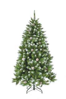 Искусственные елки Triumph Tree Ель Императрица с шишками 215 см заснеженная 73541
