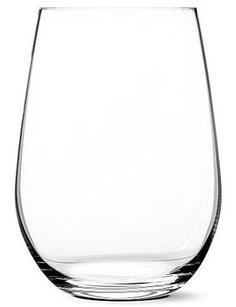 """Бокалы для красного вина Riedel """"O"""" - Набор фужеров 2 шт Riesling 375 мл стекло 0414/15"""