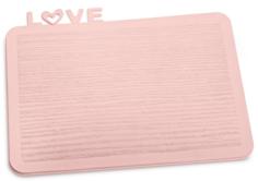 Разделочные доски Koziol HAPPY BOARD LOVE Разделочная доска, розовая