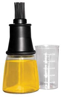 Бутылки для масла и уксуса IBILI Accesorios Емкость для масла с кисточкой 0,15 мл 707600