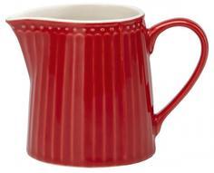 Молочники, Соусники Greengate Молочник Alice red