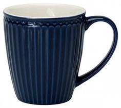 Кружки Greengate Кружка Alice dark blue