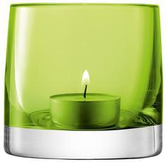 Подсвечники LSA Подсвечник для чайной свечи Light Colour 8,5 см лайм