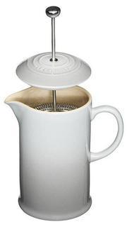 Кофейники и френч-прессы LE CREUSET Кофейник с прессом, 800 мл, дымчатый серый