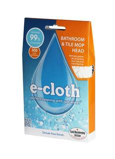 Тряпки и салфетки E-cloth Сменная насадка для швабры для ванных комнат 27 х 13 см