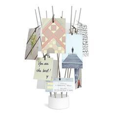Рамки и держатели для фотографий Umbra Стойка для фото настольная Fotofan хром