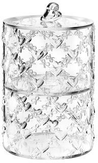 Сахарницы, Конфетницы Guzzini Набор из 2 контейнеров Love прозрачный