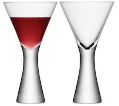 Бокалы для красного вина LSA Набор из 2 бокалов для вина Moya 395 мл прозрачный