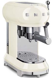 Рожковые кофемашины Smeg Кофемашина-эспрессо, кремовый