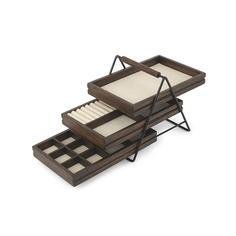 Хранение украшений Umbra Шкатулка для украшений TERRACE орех