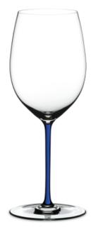 Бокалы для красного вина Riedel Fatto a Mano - Фужер Cabernet/Merlot 625 мл хрустальное стекло с синей ножкой 4900/0D