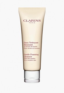 Крем для умывания Clarins Gentle Foaming Cleanser для сухой и чувствительной кожи, 125 мл
