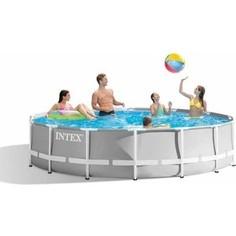 Каркасный бассейн Intex 26700 Prism Frame 305x76 см 4485л
