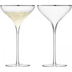 Набор из 2 бокалов для шампанского 250 мл LSA International Savoy (G245-09-381)