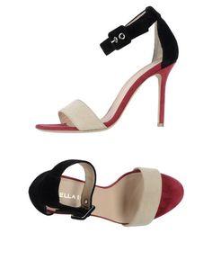Босоножки на каблуке Lella Baldi