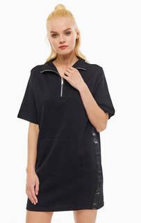 Платье Черное платье с высоким воротом Dkny
