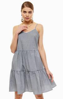 482e6b91b91 Платье-сарафан с расклешенной юбкой в полоску Vero Moda