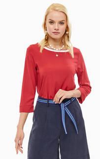 Блуза Красная блуза из вискозы Marc Opolo