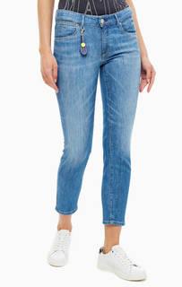 Брюки Зауженные джинсы со стандартной посадкой Alby Slim Marc Opolo
