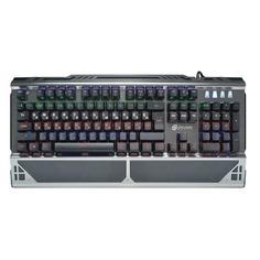 Клавиатура OKLICK 980G HUMMER, USB, c подставкой для запястий, черный