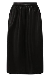 Кожаная юбка Maslov
