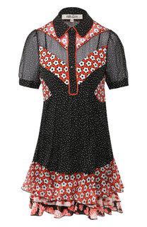 Платье с принтом Diane Von Furstenberg