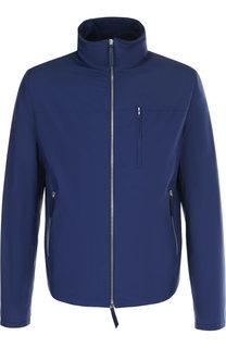 Куртка на молнии с воротником-стойкой Andrea Campagna